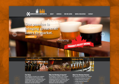 2×4 Brewing and Imports Website