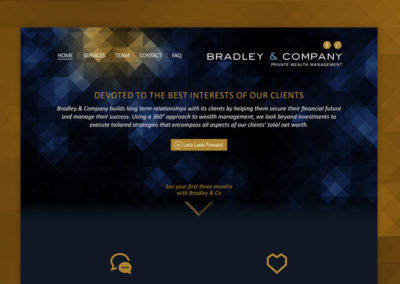 Bradley and Company Website
