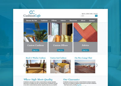 Cushion Cafe Website