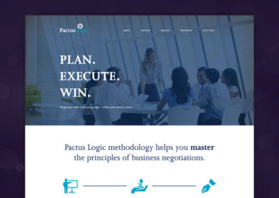 Pactus Logic Website