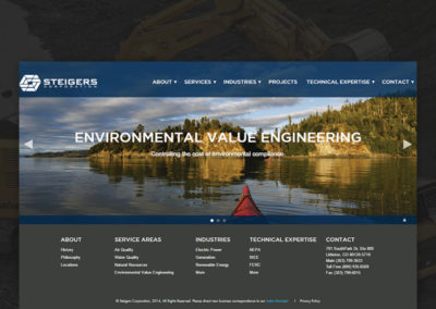 Steigers Website