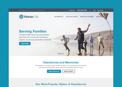 Honor Life Website