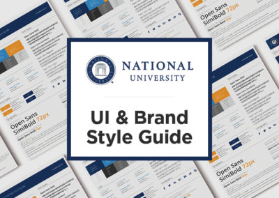 National University Basic Web Style guide