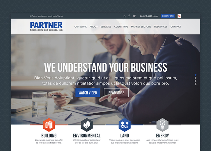 Partner ESI Website