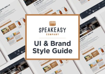 Speakeasy Co. Style Guide
