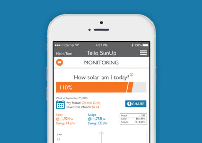Tello Electric Solar App