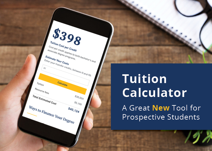 A Great Tool for Prospective Students – A Tuition Calculator